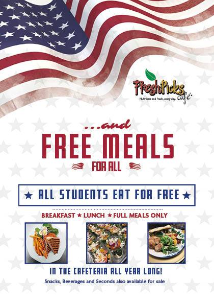 Free Meals for All!